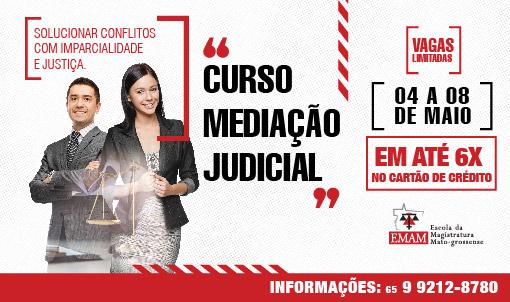 MEDIAÇÃO JUDICIAL COM ESTÁGIO AUTOSUPERVISIONADO