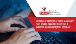 Lei Geral de Proteção de Dados na internet, suas regras, principais discussões e impactos nas organizações e sociedade