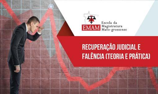 CURSO DE RECUPERAÇÃO JUDICIAL E FALÊNCIA (teoria e prática)
